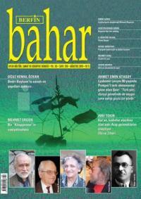 Berfin Bahar Dergisi Sayı: 210 Ağustos 2015