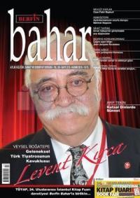 Berfin Bahar Dergisi Sayı: 213 Kasım 2015