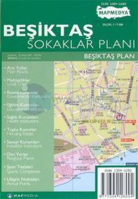 Beşiktaş Sokaklar Planı