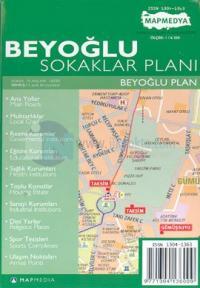 Beyoğlu Sokaklar Planı