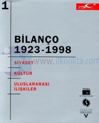 """Bilanço 1923-1998 """"Türkiye Cumhuriyeti'nin 75 Yılına Toplu Bakış"""" Uluslararası Kongresi 2 Cilt Takım"""