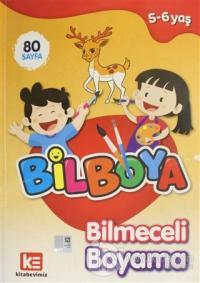 Bilboya - Bilmeceli Boyama Kitabı Kolektif