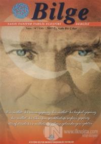 Bilge Dergisi Sayı: 34 / Güz 2002