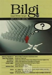 Bilgi Sosyal Bilimler Dergisi Sayı: 15