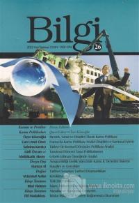 Bilgi Sosyal Bilimler Dergisi Sayı: 26 Yaz