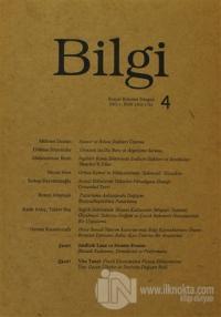 Bilgi Sosyal Bilimler Dergisi Sayı: 4