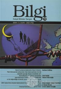Bilgi Sosyal Bilimler Dergisi Sayı:9