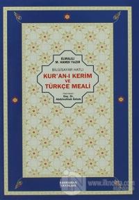 Bilgisayar Hatlı Kur'an-ı Kerim ve Türkçe Meali %10 indirimli Elmalılı