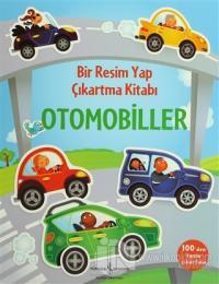 Bir Resim Yap Çıkartma Kitabı - Otomobiller