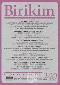 Birikim Aylık Edebiyat Kültür Dergisi Sayı: 240