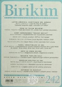 Birikim Aylık Edebiyat Kültür Dergisi Sayı: 242