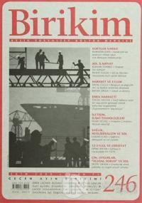 Birikim Aylık Edebiyat Kültür Dergisi Sayı: 246