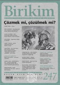 Birikim Aylık Edebiyat Kültür Dergisi Sayı: 247