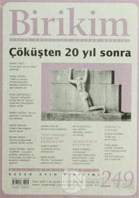 Birikim Aylık Edebiyat Kültür Dergisi Sayı: 249