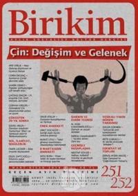 Birikim Aylık Edebiyat Kültür Dergisi Sayı: 251- 252