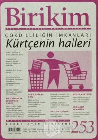 Birikim Aylık Edebiyat Kültür Dergisi Sayı: 253