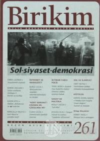 Birikim Aylık Edebiyat Kültür Dergisi Sayı: 261