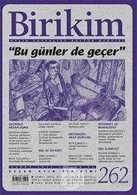 Birikim Aylık Edebiyat Kültür Dergisi Sayı: 262