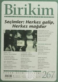 Birikim Aylık Edebiyat Kültür Dergisi Sayı: 267
