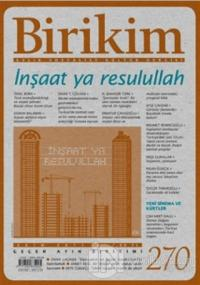Birikim Aylık Edebiyat Kültür Dergisi Sayı: 270