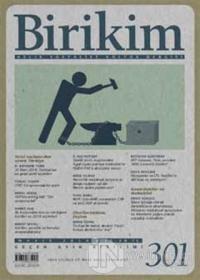 Birikim Aylık Edebiyat Kültür Dergisi Sayı: 301