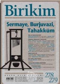 Birikim Aylık Sosyalist Kültür Dergisi Sayı: 278 - 279