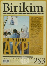 Birikim Aylık Sosyalist Kültür Dergisi Sayı: 283