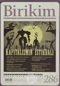 Birikim Aylık Sosyalist Kültür Dergisi Sayı: 286