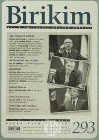 Birikim Aylık Sosyalist Kültür Dergisi Sayı: 293