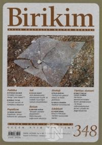 Birikim Aylık Sosyalist Kültür Dergisi Sayı: 348 Nisan 2018