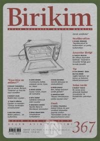 Birikim Aylık Sosyalist Kültür Dergisi Sayı: 367 Kasım 2019