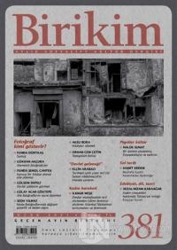 Birikim Aylık Sosyalist Kültür Dergisi Sayı: 381 Ocak 2021 Kolektif