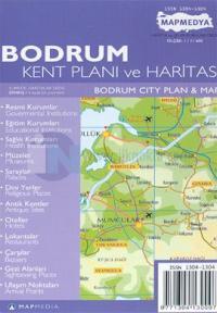 Bodrum Kent Planı ve Haritası Bodrum City Plan & Map