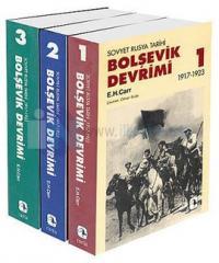 Bolşevik Devrimi 1917-1923 Seti - 3 Kitap Takım