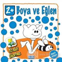 Boya ve Eğlen Mavi Kitap