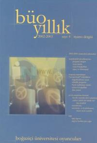 Büo Yıllık 2002-2003 Sayı: 4