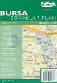 Bursa Sokaklar Planı