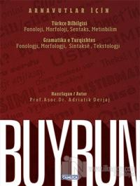 Buyrun - Arnavutlar İçin Türkçe Dilbilgisi / Gramatika e Turqishtes