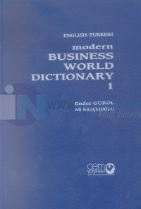 Çağdaş İş Dünyası Sözlüğü Türkçe İngilizce Modern Business World Dictionary İngilizce Türkçe 1 - 2 Özel Kutusunda 3 Cilt Takım (Ciltli)