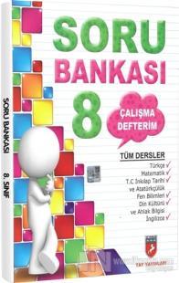 Çalışma Defterim Tüm Dersler Soru Bankası 8.Sınıf