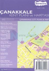 Çanakkale Kent Planı ve Haritası