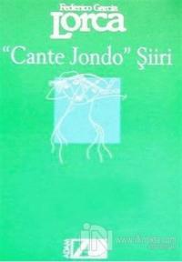 Cante Jondo Şiiri