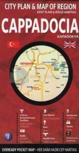 Cappadocia - Kapadokya Kent Planı & Bölge Haritası