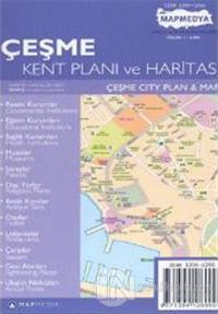 Çeşme Kent Planı ve Haritası Çeşme City Plan & Map