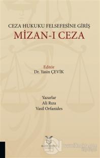 Ceza Hukuku Felsefesine Giriş Mizan-ı Ceza