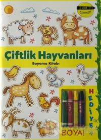 Çiftlik Hayvanları Boyama Kitabı - Minik Ressamlar