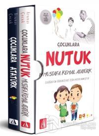 Çocuklar İçin Atatürk Kutulu Set (2 Kitap Takım) %25 indirimli Mustafa