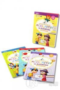 Çocuklar İçin İlk Kodlama ve Algoritma Aktiviteleri - 4 Kitap Set