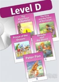 Çocuklar İçin İngilizce Okuma Seti 4 (5 Kitap +5 Cd)