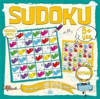 Çocuklar İçin Sudoku Boyama (5+ Yaş) Kolektif